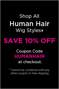 Human Hair Wigs - SAVE an Extra 10% Off Real Hair Wigs with Wigs.com