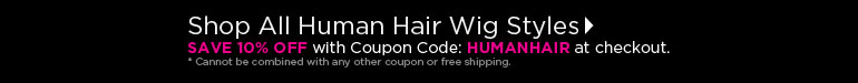Human Hair Wigs Coupon Code