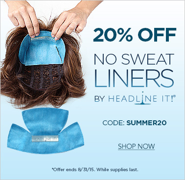 20% off No Sweat Liners by Headline It