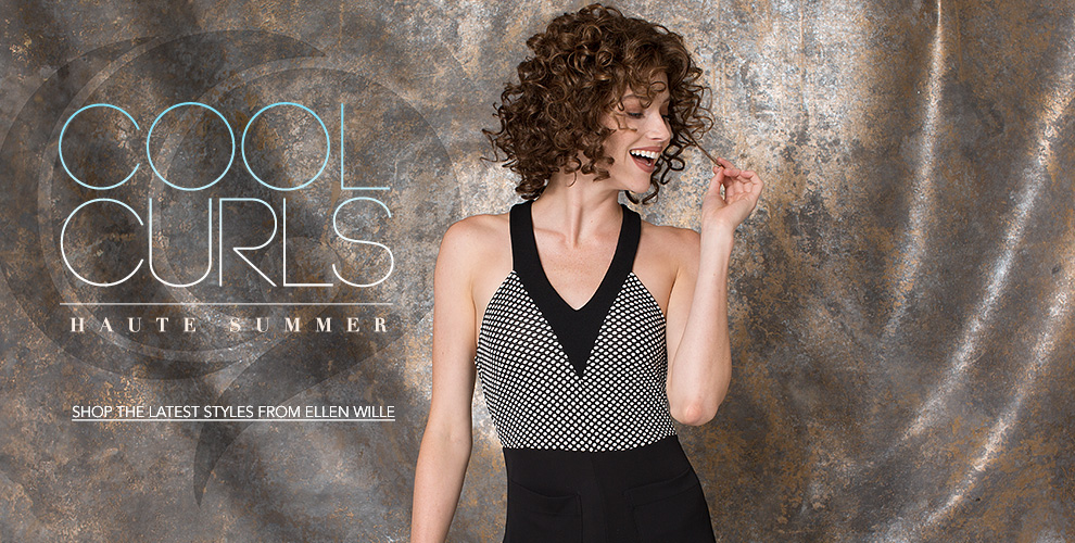 Cool Curls, Haute Summer by Ellen Wille