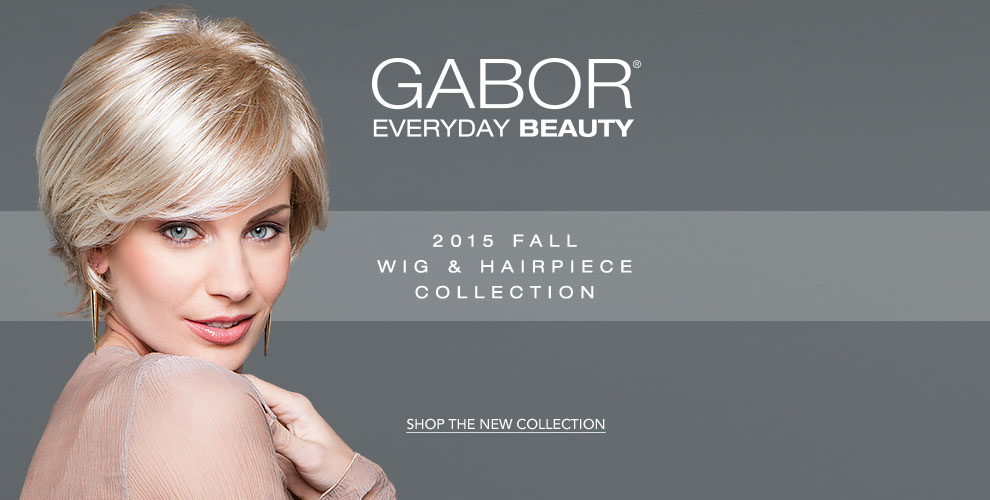 Gabor 2015 Fall Wig & Hairpiece Collection