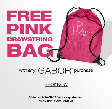 Free Pink Bag with Gabor purchase