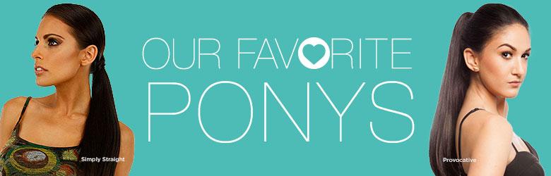 Our Favorite Ponytails