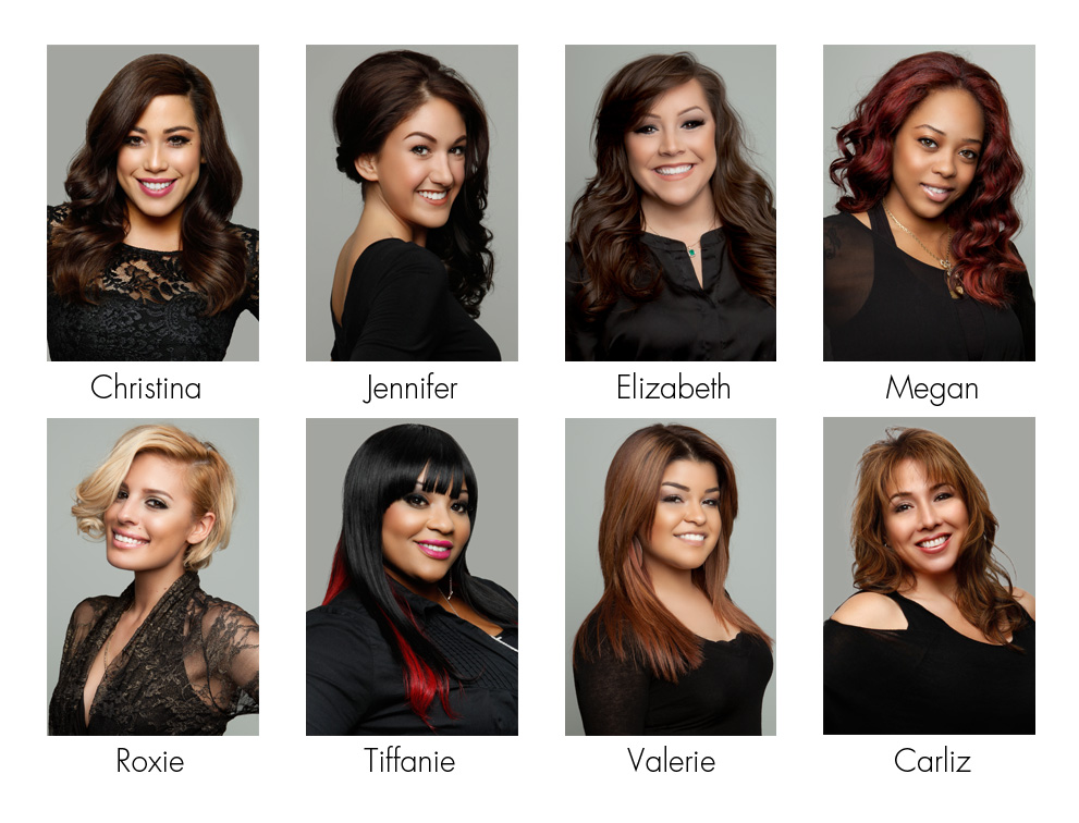 The Wig Experts of Wigs.com -- Meet Christina, Jennifer, Elizabeth, Megan, Roxie, Tiffanie, Valerie and Carliz