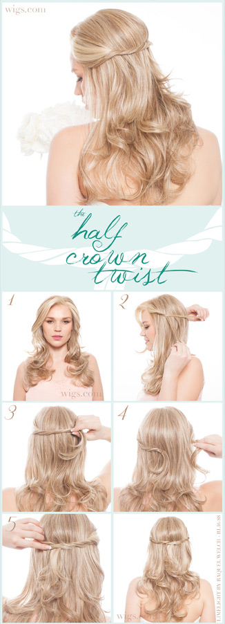 How to: HALF CROWN TWIST