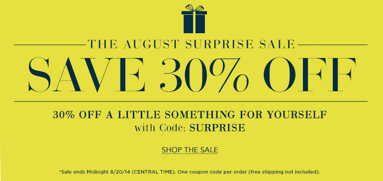 The 1 Day Surprise Sale