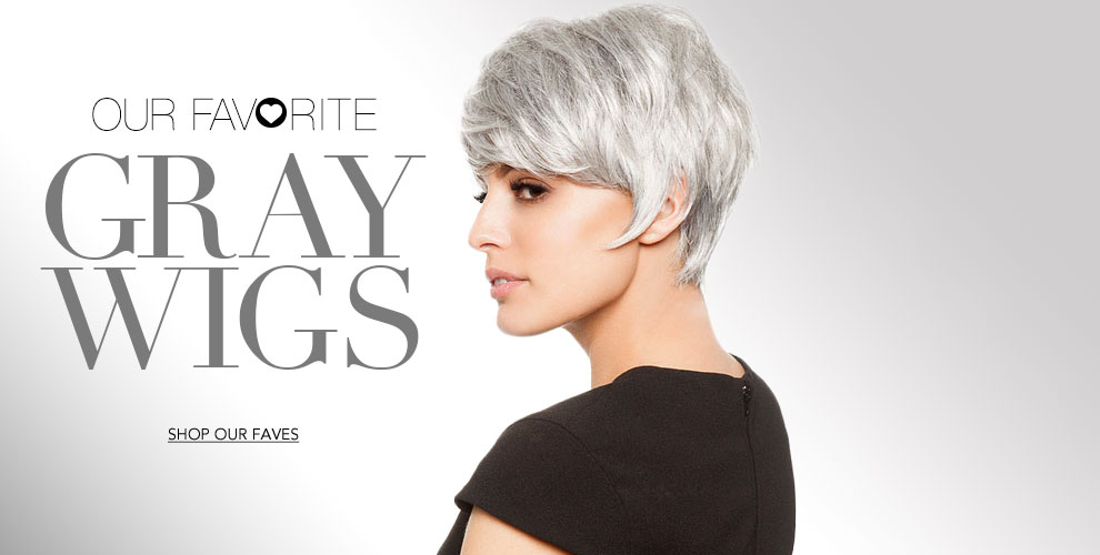 Our Favorite Gray Wigs