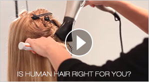 Human Hair Wigs Video - Watch this video to learn more about monofilament wigs.