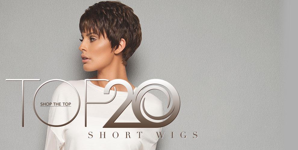Top 20 Short Wigs