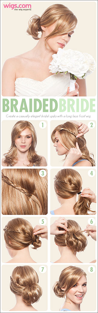 How to: THE BRAIDED BRIDE