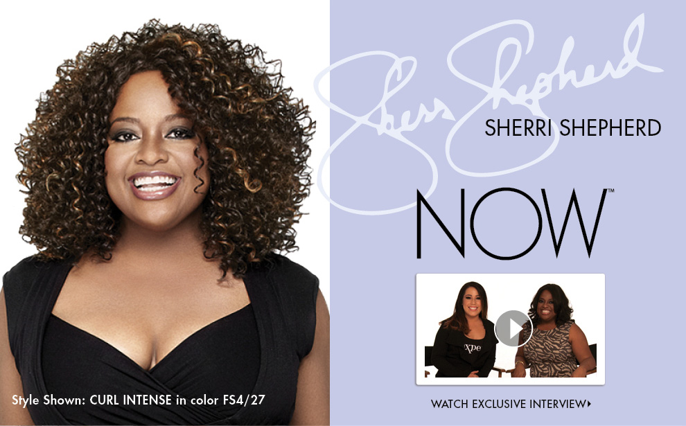Sherri Shepherd NOW Wigs by Luxhair
