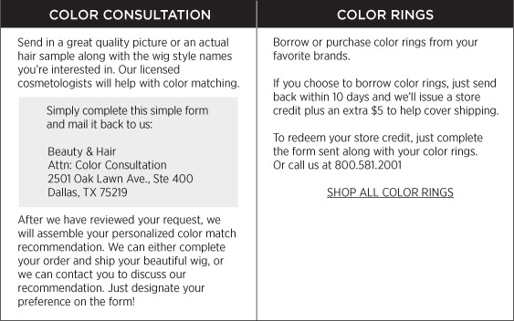 Color Consultation & Rings