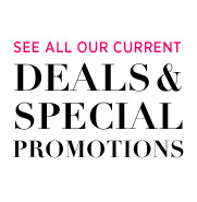 Deals and Special Promotions
